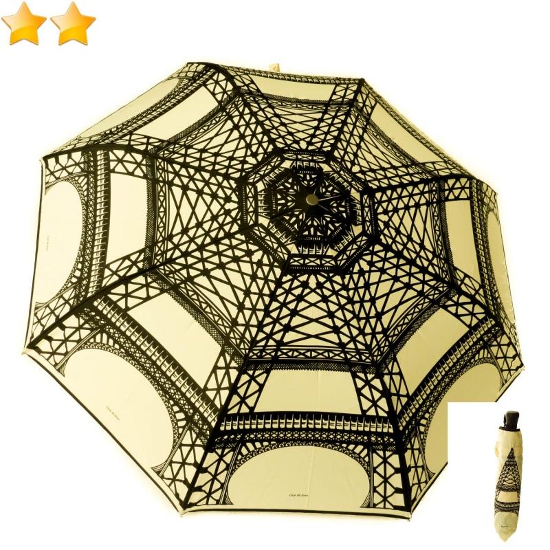parapluie pliant automatique impression tour eiffel guy de jean. Black Bedroom Furniture Sets. Home Design Ideas
