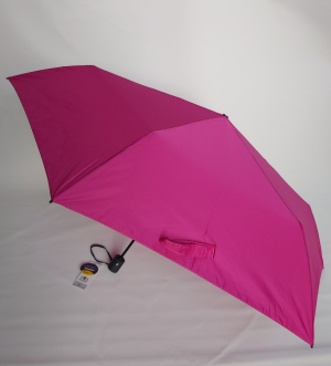 NOUVEAU : le ZERO MAGIC mini parapluie EXTRA FIN pliant uni fuchsia OPEN CLOSE Doppler, 176 g le plus léger