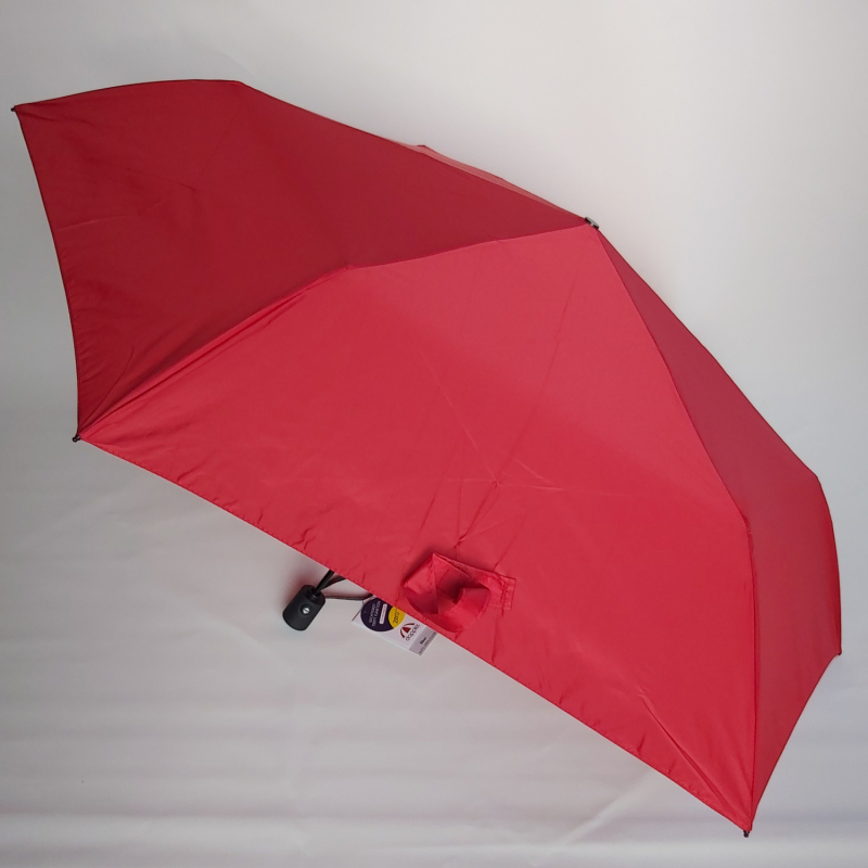 NOUVEAU : le ZERO MAGIC mini parapluie PLUME 176 g EXTRA FIN pliant rouge OPEN CLOSE Doppler, le plus léger