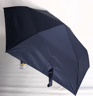 NOUVEAU : le ZERO MAGIC mini parapluie EXTRA FIN pliant uni bleu marine OPEN CLOSE Doppler, 176 g le plus léger