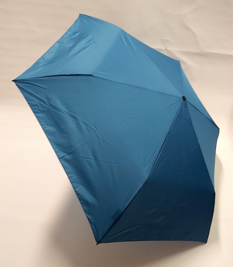 NOUVEAU : le ZERO MAGIC mini parapluie PLUME EXTRA FIN pliant uni bleu roi OPEN CLOSE Doppler, 176 g le plus léger