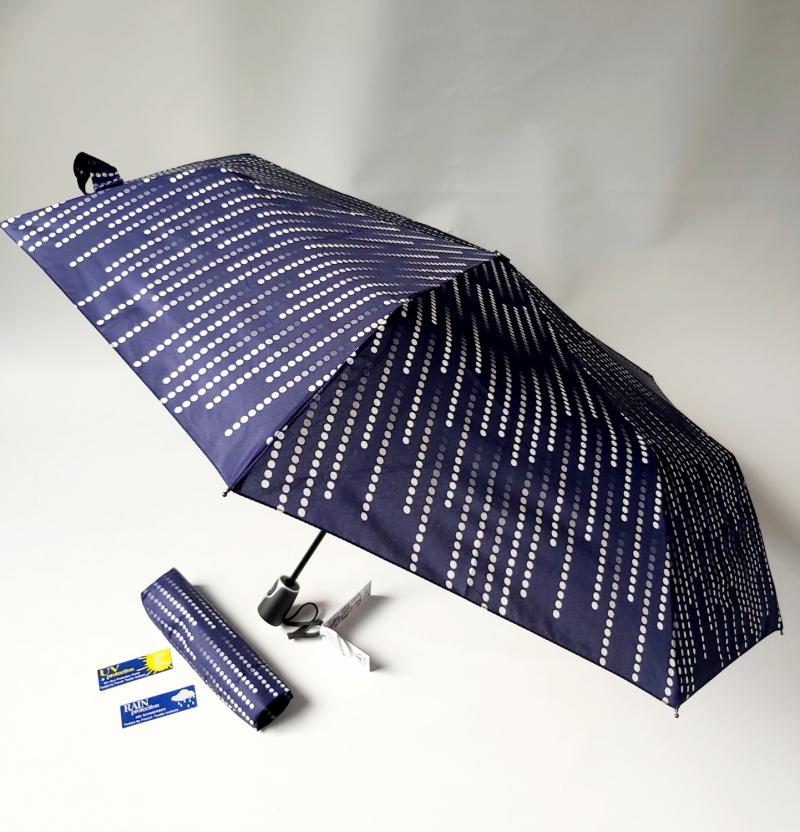 Bleu SMATI Parapluie Canne Ouverture Automatique Anti temp/ête Super Solide avec 10 Baleines en Fibre