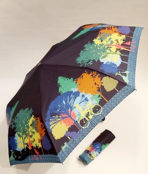 GFCGFGDRG Manuel 5 Poche Pliant Parapluie Couleur Perles polonais Parapluie Soleil Pluie Poche EVA Bo/îte Parapluie Huit Aluminium Support Couleur Solide