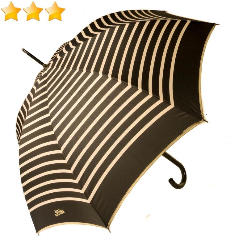 énorme réduction 1f868 95432 Parapluie Jean Paul Gaultier femme long automatique rayures ...