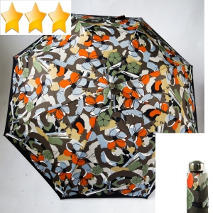 EXCLUSIVITE Parapluie pliant automatique fleurs multicolores Knirps