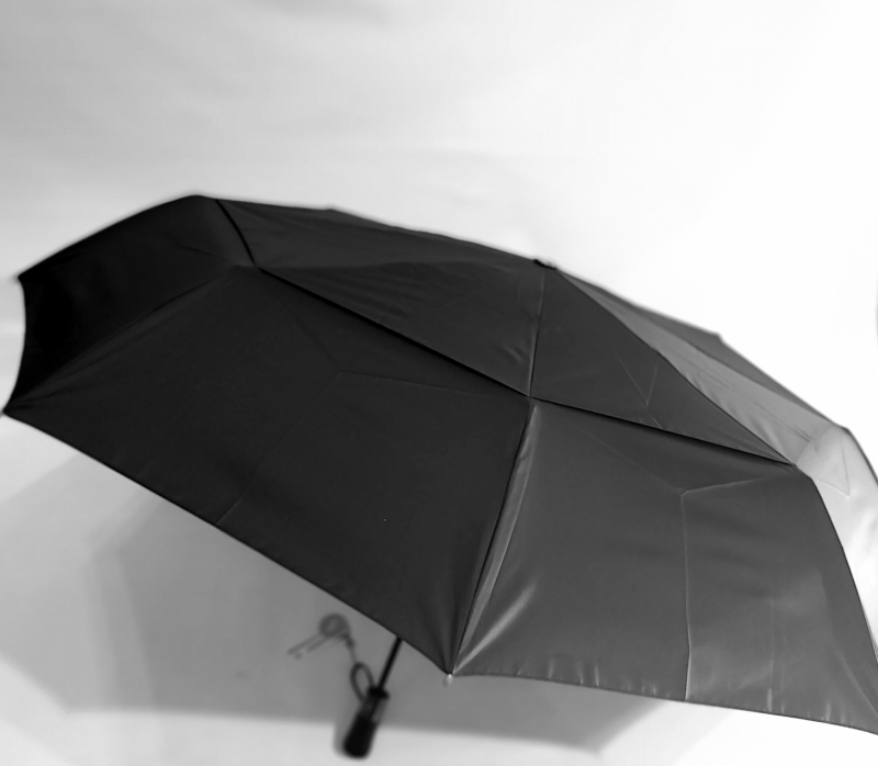 Parapluie golf pliant noir open close