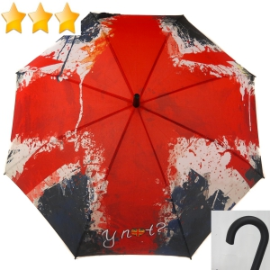 Parapluie long automatique Esprit photo drapeau Anglais UK collection Y not