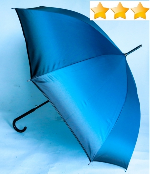 EXCLUSIVITE : Parapluie long automatique leger degrade bleu