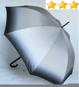 EXCLUSIVITE : Parapluie long automatique leger degrade gris Ezpeletta